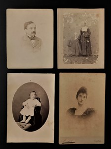 AA.VV. - Four portraits. Pictures of the second half of XIX century.