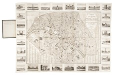 Rosselin,Karl Baedeker - BAEDEKER. Paris et ses environs and Large Map of Paris.