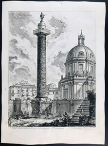 Giovanni Battista PIRANESI - Colonna Traiana; Colonna Antonina.