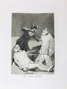 Francisco José Goya y Lucientes - Los Chinchillas.