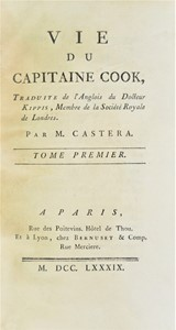 Andrew KIPPIS - Travels. KIPPIS. Vie du Capitaine Cook.
