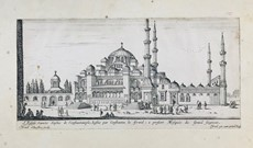 Israel Silvestre - Istanbul. SILVESTRE. Two views of Istanbul.