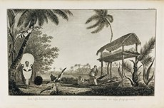 AA.VV. - Oceania. Capt. Cook's Voyages. Three engravings.