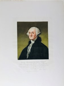 William Nutter,Gilbert Charles Stewart - Portrait. Washington Geo. Esq. Late President of the United States of America.