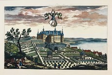 Erik Dahlberg - Sweden. DAHLBERG. Three etchings of castles.