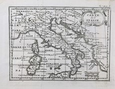 Anonimo - Maps of Italy.