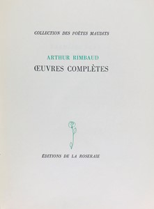 Arthur Rimbaud - Oeuvres completès.