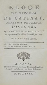 AA.VV. - Collection of 5 French works in first edition of the XVIII century.