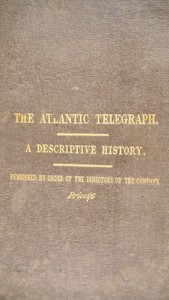 Robert James MANN - Telegraph. MANN. The Atlantic Telegraph.