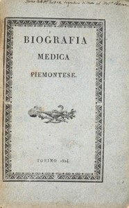 Giovanni Giacomo BONINO - Piedmontese Medical Biography. BONINO. Biografia Medica Piemontese.