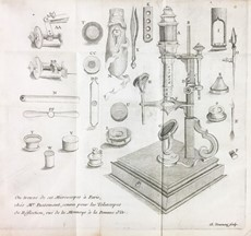 John NEEDHAM TURBERVILLE - Observations under the microscope. NEEDHAM. Nouvelles observations microscopiques.