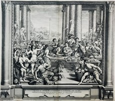 AA.VV. - Lorenzo de' Medici. ALLORI – MORGHEN –  GREGORI. The dinner of Siface king of Numides made for Scipio.