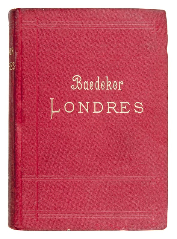 Karl Baedeker : Londres et ses environs.  (1899)  - Map of London and surrounding - Auction TRAVEL AND SCIENTIFIC BOOKS, ATLASES, PRINTS AND PHOTOS - Bado e Mart Auctions