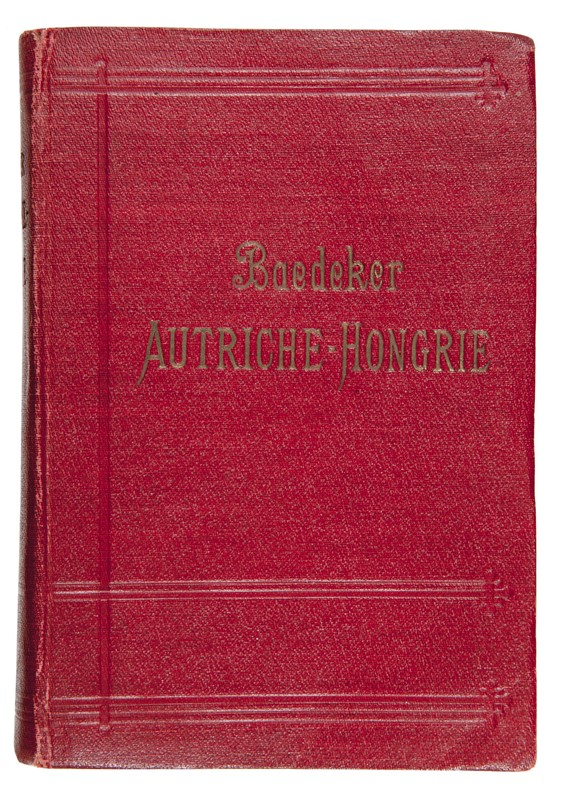 Karl Baedeker : BAEDEKER. Autriche-Hongrie y compris Cettigne, Belgrade et Bucarest.  - Auction FINE AND RARE BOOKS, VOYAGES, ATLASES, MAPS AND PRINTS - Bado e Mart Auctions