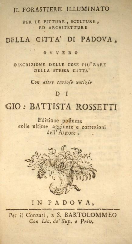 Calendario Aste Padova.Giovanni Battista Rossetti Art History Rossetti Il