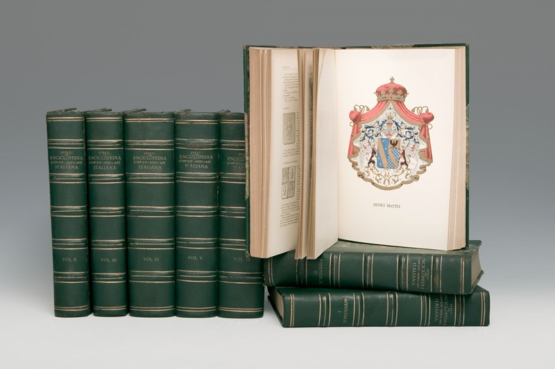 Vittorio SPRETI : Heraldry. SPRETI. Enciclopedia storico-nobiliare italiana.  - Auction FINE AND RARE BOOKS, VOYAGES, ATLASES, MAPS AND PRINTS - Bado e Mart Auctions