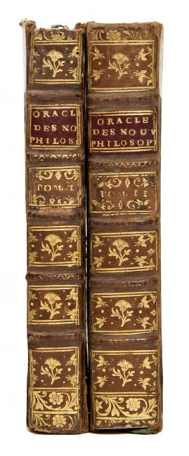 Enlightenment philosophy. GUYON. L'Oracle des nouveaux Philosophes.  - Auction  [..]