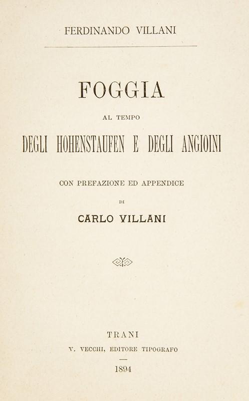 Calendario Aste Trani.Ferdinando Villani Foggia Al Tempo Degli Hohenstaufen E
