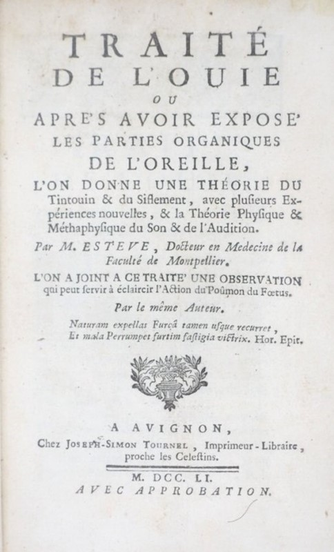 AA.VV. : Acoustics/Digestion. Three works on medicine.  - Auction FINE AND RARE BOOKS - Bado e Mart Auctions