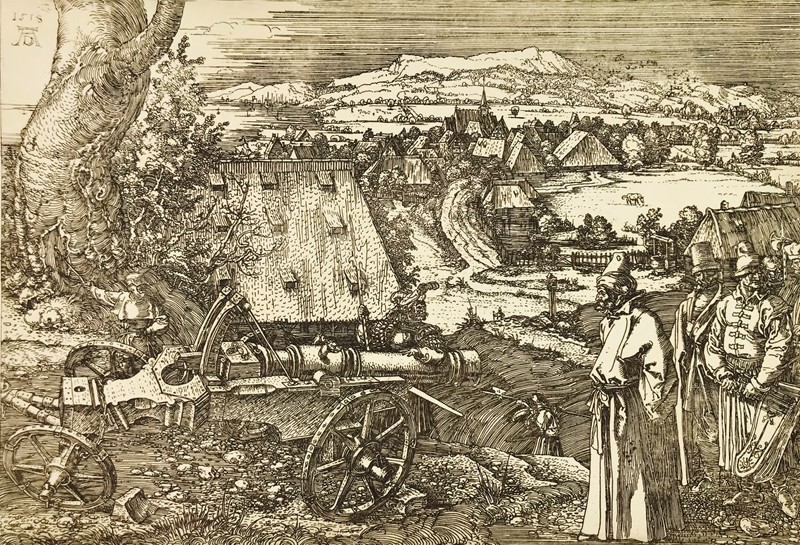 Albrecht DURER. The big cannon