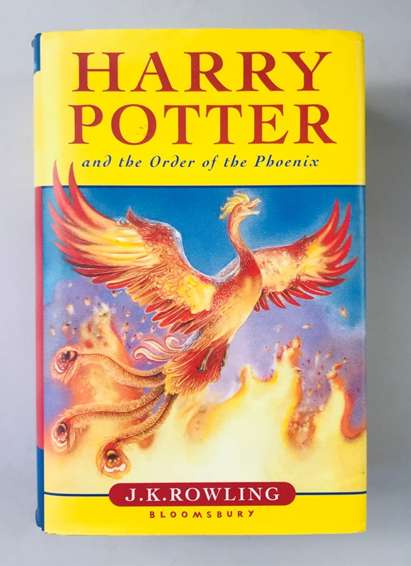 Signed Copy. J.K. ROWLING. Harry Potter and the Order of the Phoenix.  - Auction FINE AND RARE BOOKS AND AUTOGRAPHS - Bado e Mart Auctions