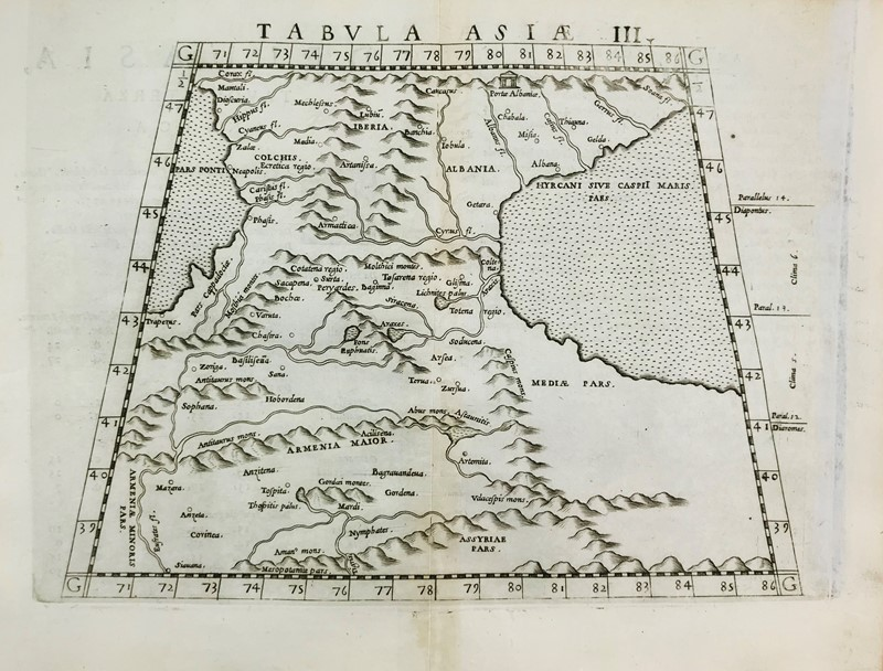 Asia. PTOLOMAEUS. Tabula Asiae III.  - Auction FINE RARE BOOKS, ATLASES and DRAWINGS - Bado e Mart Auctions