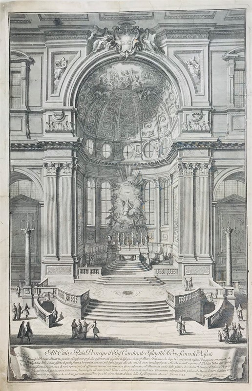 AA.VV. : POSI - VASI. Apse and altar of the Naples Cathedral.  - Auction FINE RARE BOOKS, ATLASES and DRAWINGS - Bado e Mart Auctions