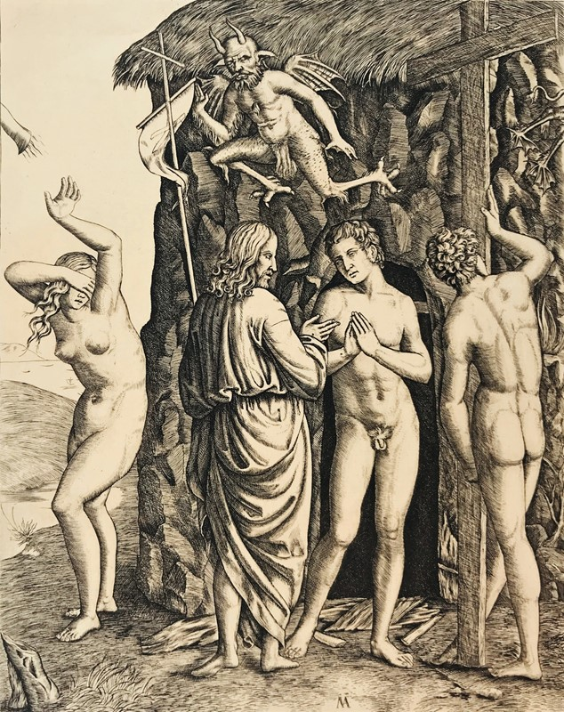 RAIMONDI. Christ in Limbo with Adam and Eve.  - Auction FROM VENICE TO ORIENT PART II. ANTIQUE ART WORKS. - Bado e Mart Auctions