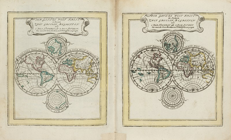 Atlas. BODENEHR. Atlas Curieux.  - Auction RARE BOOKS, ATLASES, AUTOGRAPHS AND DRAWINGS  [..]