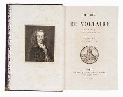 AROUET, Francois-Marie, VOLTAIRE. Oeuvres.