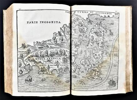 RAMUSIO, Giovanni Battista. Delle navigationi et viaggi