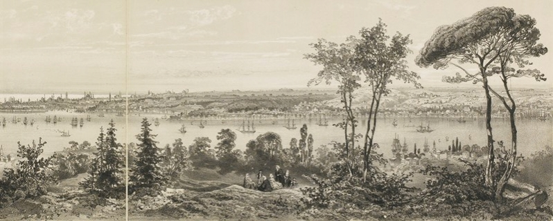 Views of Istambul. SCHRANZ, Joseph. Le Bosphore.