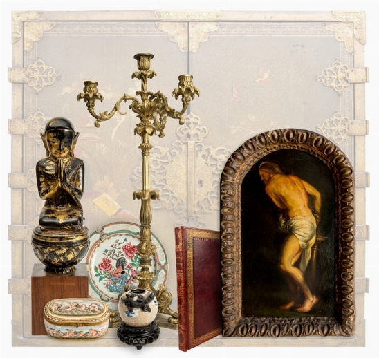 FROM VENICE TO ORIENT ANTIQUE ART WORKS.