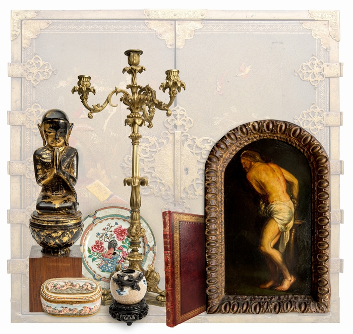 FROM VENICE TO ORIENT ANTIQUE ART WORKS. <span>Auction 12</span>